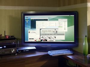Matetv W T in Mate-Desktop (remote) auf dem Raspi