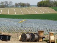 Solar T in Es glitzert zwischen großem Spargel